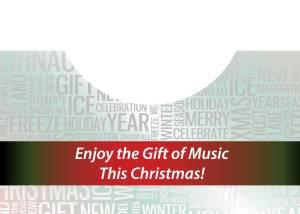 Christmas Word Art Card Inside