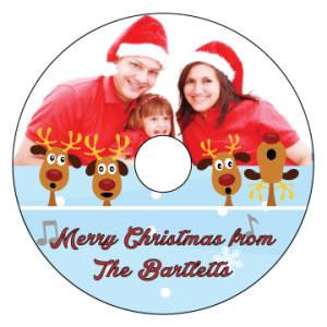 Reindeer-christmas-music-cd