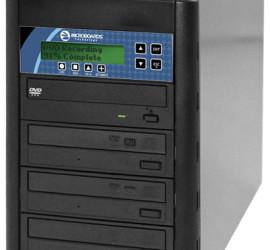 Microboards CopyWriter Pro Tower - Total Media Inc - 3 bay