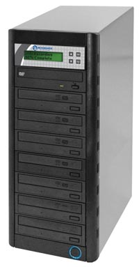 QD Economy Series CD/DVD Tower 1-to-7 Duplicator w/ HDD